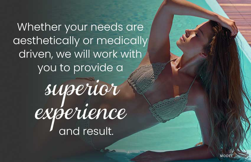 We will work with you to provide a superior experience and result.